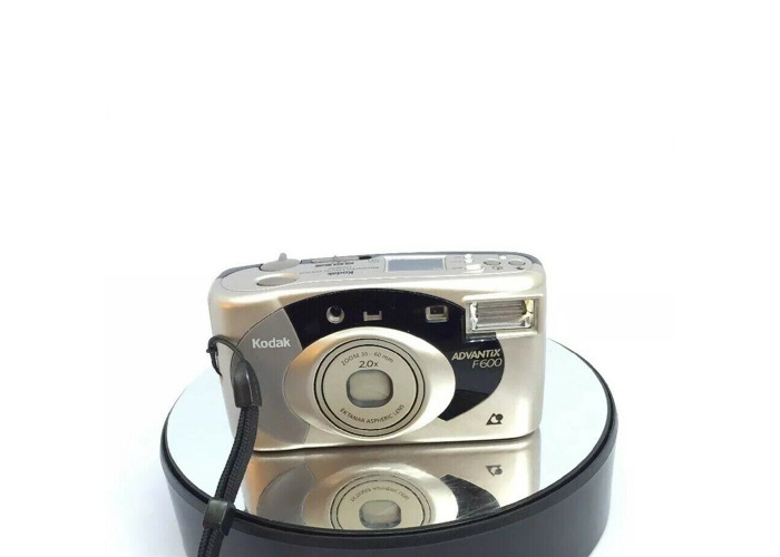 KODAK ADVANTIX F600 QUARTZ DATE~PANORAMA APS FILM CAMERA WITH 30-60MM LENS #337 - 2