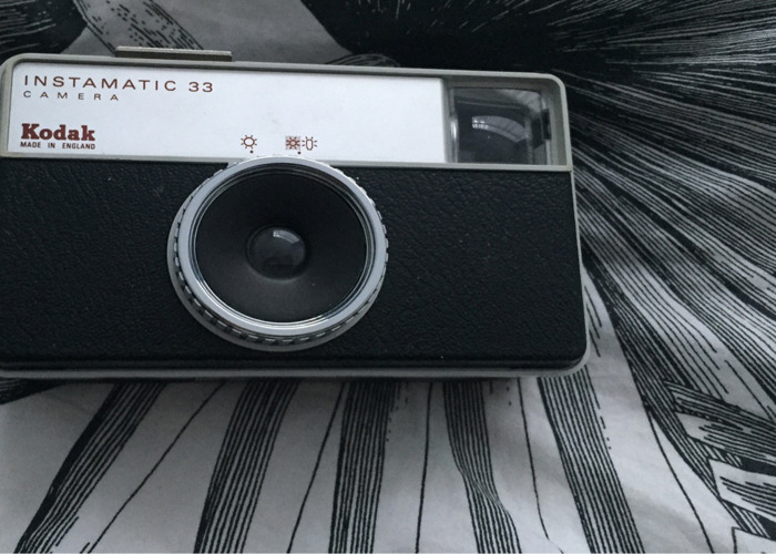 Kodak Instamatic 33 film camera  - 1
