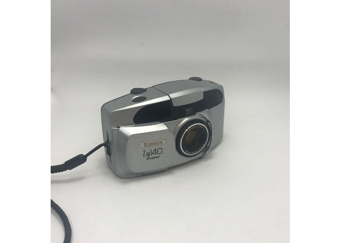 Konica Z-UP 140 Super 35mm Film Point and Shoot Camera 38-140mm Lens - 2