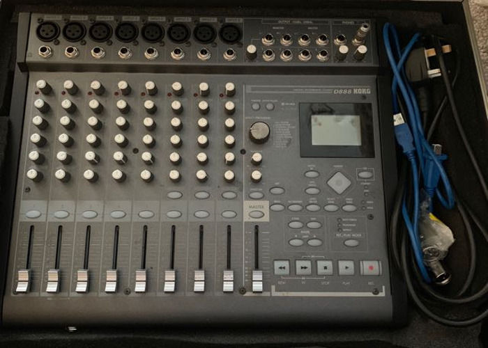 Korg D888 portable digital recorder - 1