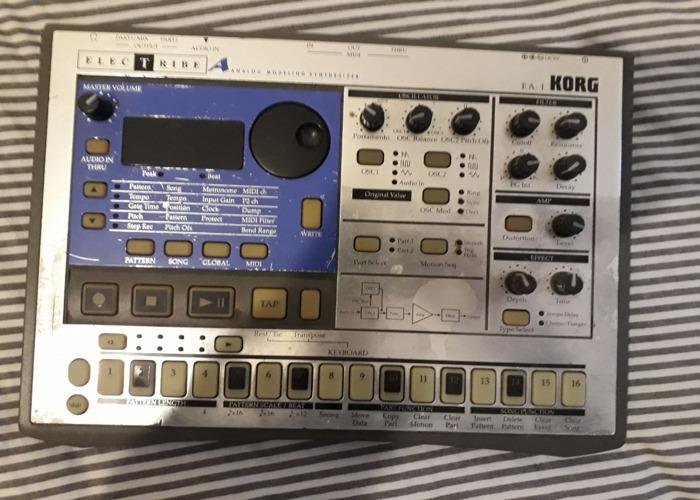 Korg Electribe EA1 synthesiser  - 1