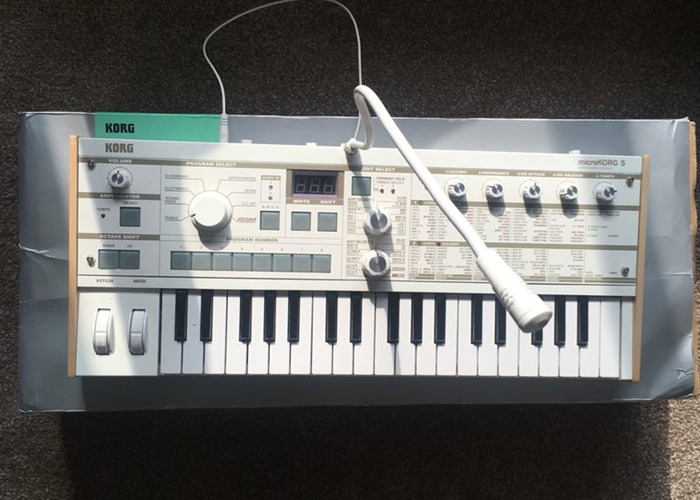 Rent Korg Microkorg S Synthesizer/Vocoder in London