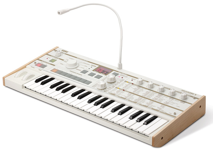 Korg MicroKorg XL Limitied Edition WHITE  - 1