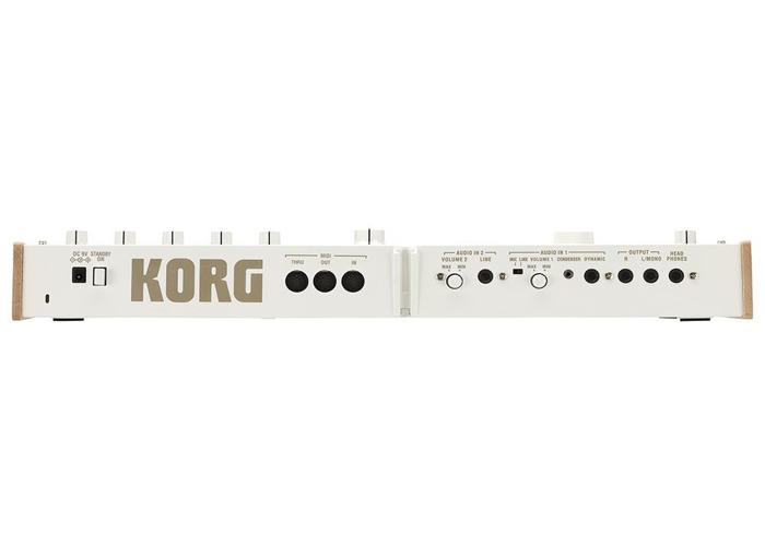 Korg MicroKorg XL Limitied Edition WHITE  - 2