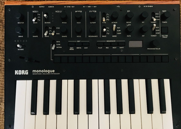 Korg Monologue Analogue Synthesiser  - 1