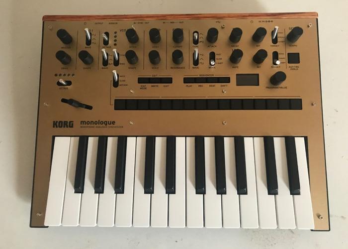 Korg Monologue Analogue Synthesizer - 1