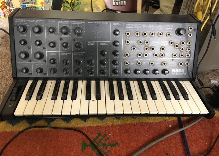 Korg MS20 Synthesiser  - 1