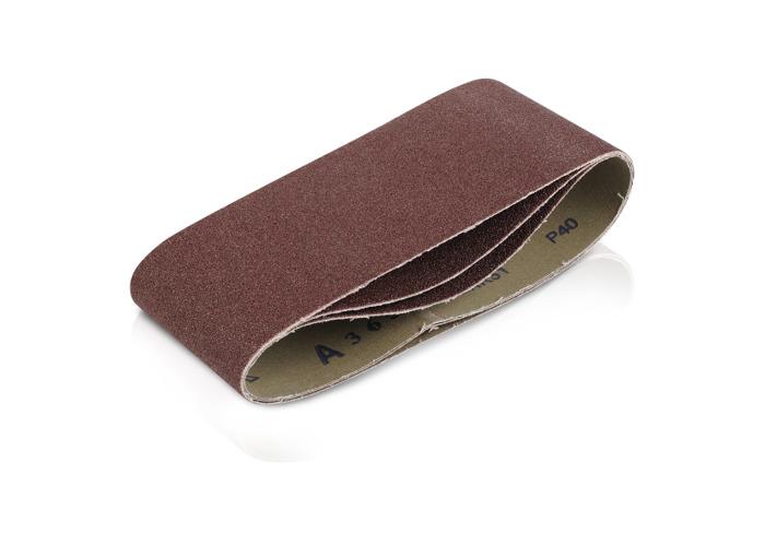 Kreator 3PK Belt Sanding Sheets 75x457mm - 80Grit KRT241005 - 1