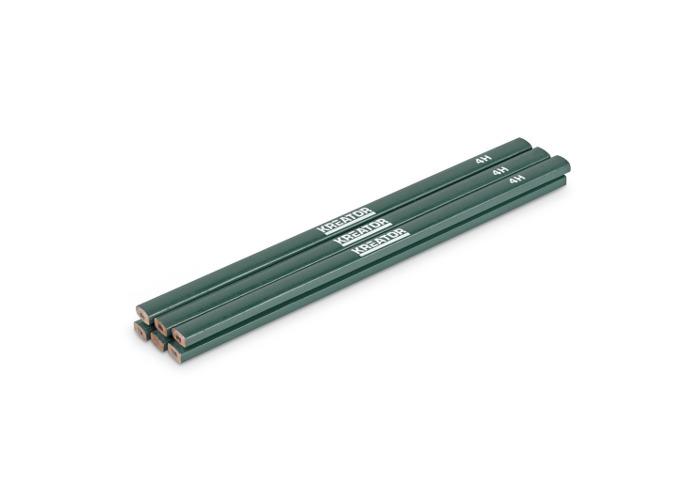 Kreator 6PK Green 4H Tradesman Pencils KRT710002 - 1