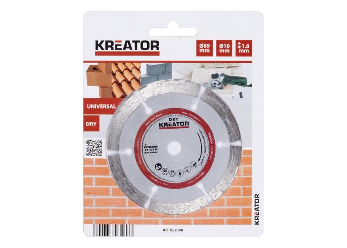 Kreator Diamond Disc 89mm D89 Dry Saw Blade KRT082000 - 1