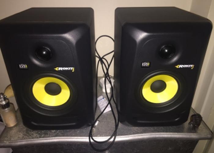 Krk Rokit 5 speakers - 1