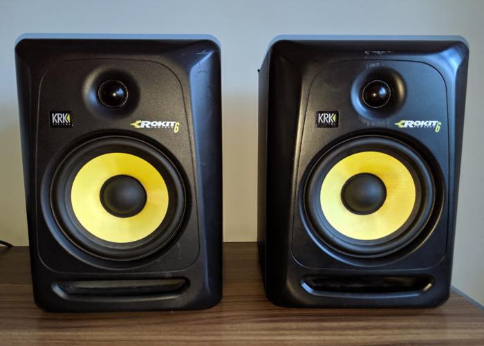 KRK Rokit 6 Studio Monitor Speakers - 1