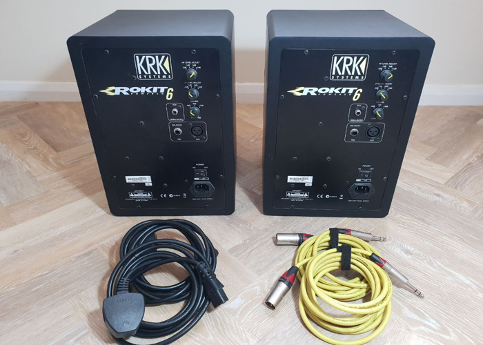 KRK Rokit RP6 G3 Speakers - 2