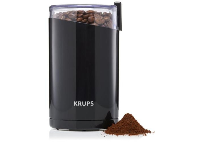 Krups F20342 Twin Blade Coffee & Spice Grinder Mill - 1