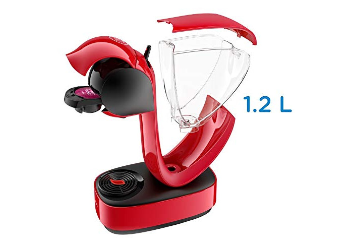 Krups Nescafe Dolce Gusto Infinissima Coffee Pod Machine - Red - 2