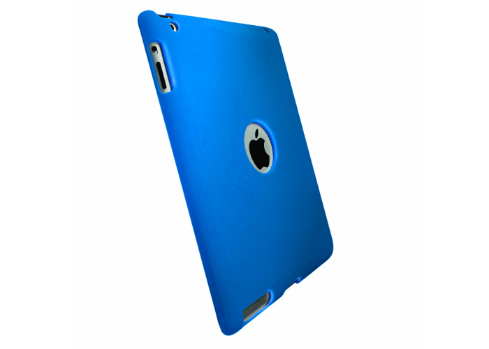 Krusell ColourCover Clip-On Case for iPad 2/3/4 - Blue - 2