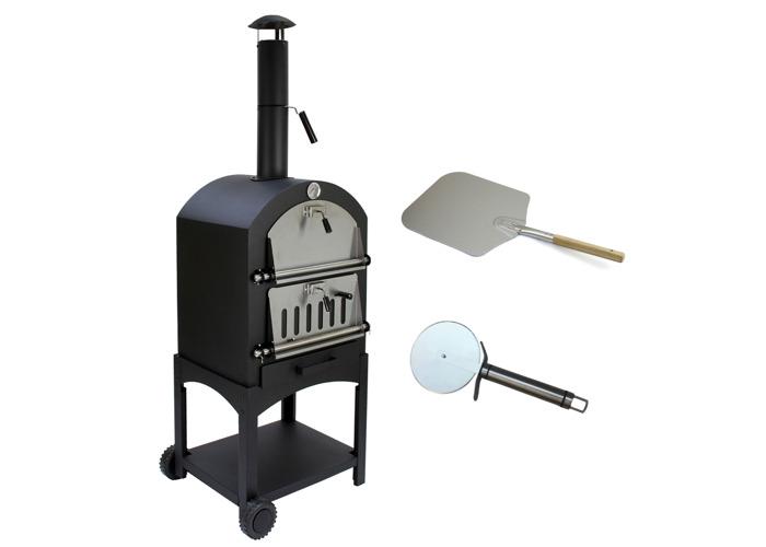 KuKoo Outdoor Pizza Oven & Pizza Peel - 1