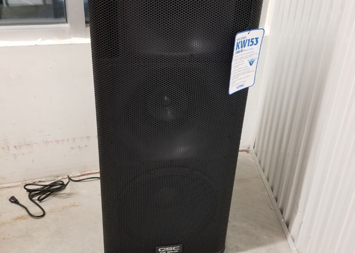 KW153 3 CHANNEL POWERED LOUDSPEAKER (free delivery)  - 1