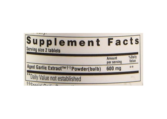 Kyolic Formula 100 Aged Garlic Extract Original Cardiovascular (100-Vegetarian Capsules) - 2