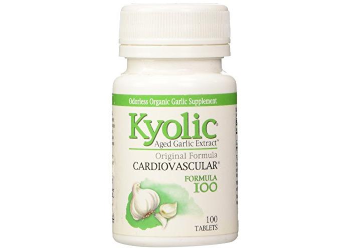 Kyolic Formula 100 Aged Garlic Extract Original Cardiovascular (100-Vegetarian Capsules) - 1