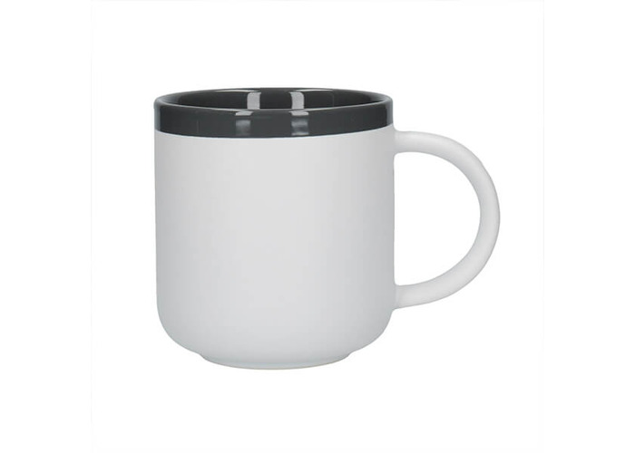 La Cafetiere Barcelona 480ml Latte Mug Cool Grey - 1