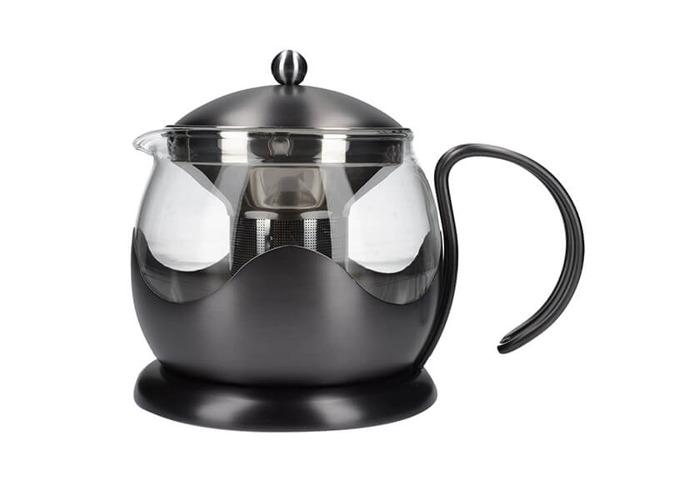 La Cafetiere Edited 4 Cup Le Teapot Gun Metal Grey - 1