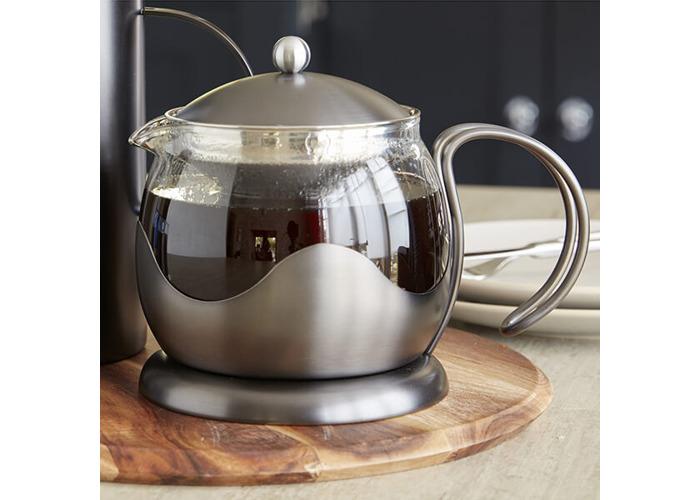 La Cafetiere Edited 4 Cup Le Teapot Gun Metal Grey - 2
