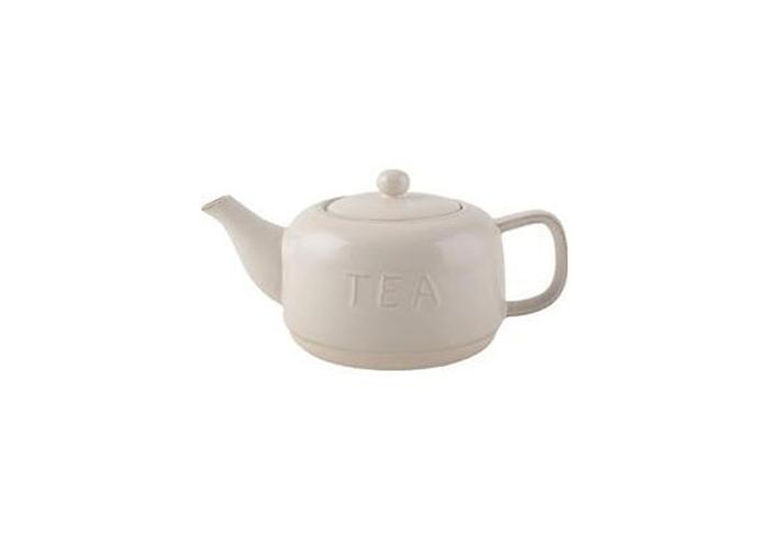 La Cafetiere Origins Embossed Stoneware Teapot - 1