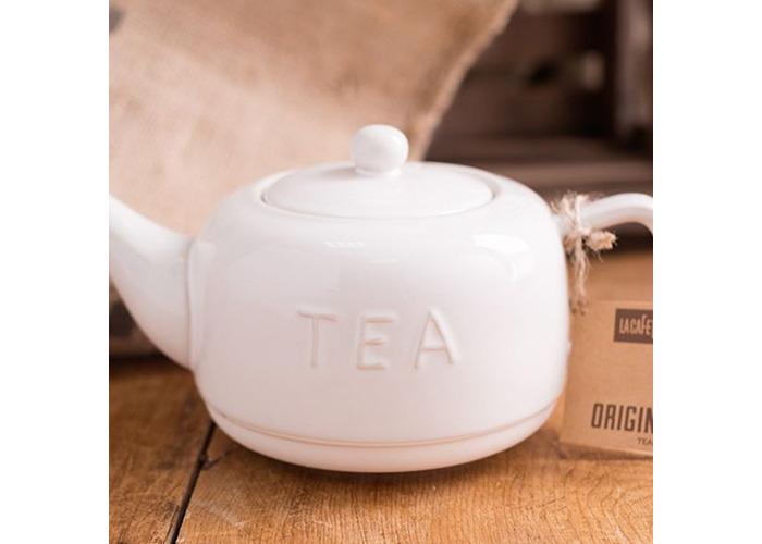 La Cafetiere Origins Embossed Stoneware Teapot - 2