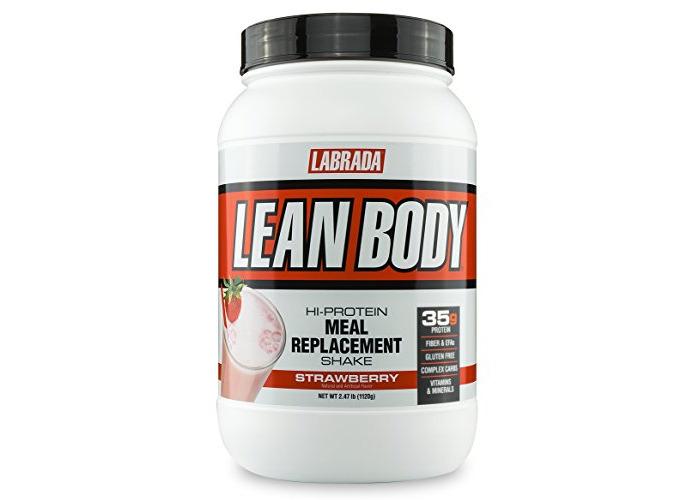 Labrada Lean Body Jug Strawberry Powder 1.1Kg - 1