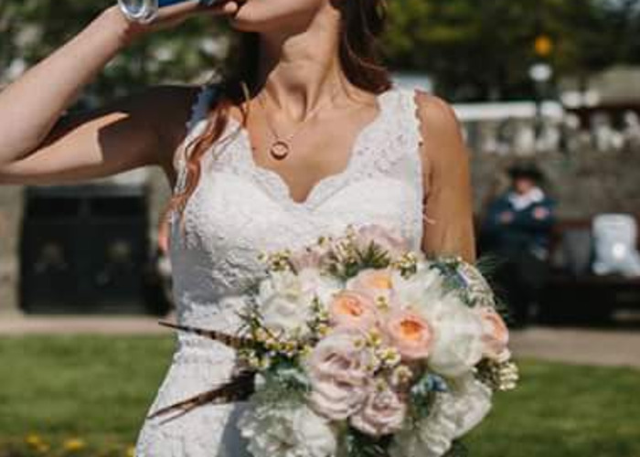Lace Wedding Dress - 2