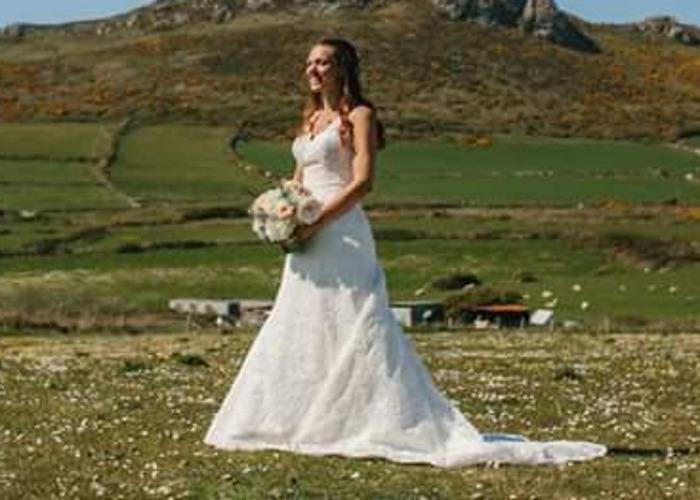 Lace Wedding Dress - 1