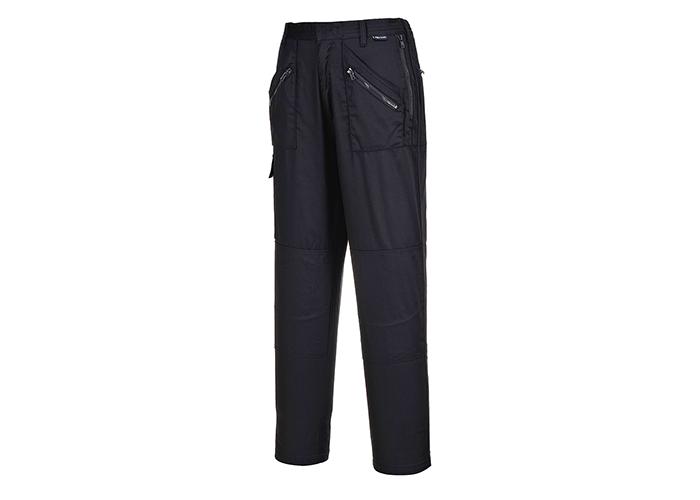 Ladies Action Trousers  Black  Medium  R - 1