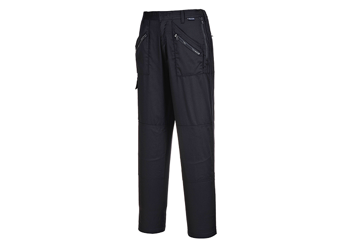 Ladies Action Trousers  Black  Small  R - 1