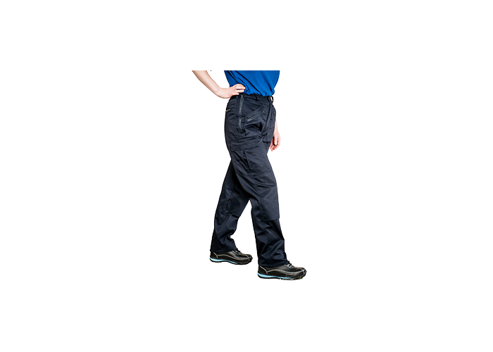 Ladies Action Trousers  Navy  Small  R - 1