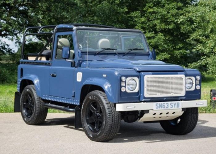 Land Rover Defender 90 Pick Up TD (2013) - 1