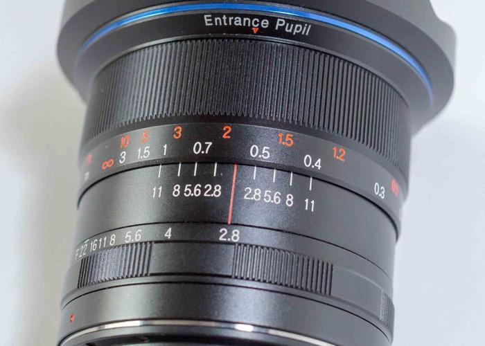 Lens Laowa 12mm f/2.8 Zero-D Lens - Canon EF mount - 2