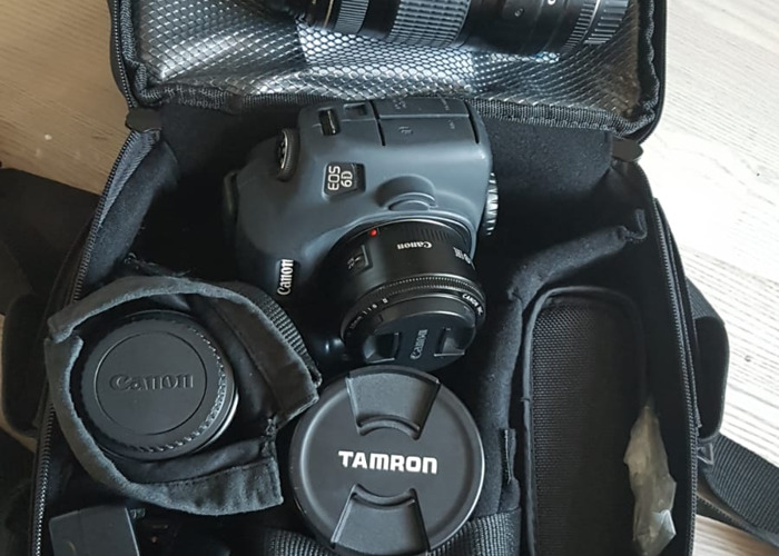 Large Canon 6D Photography Kit - 1