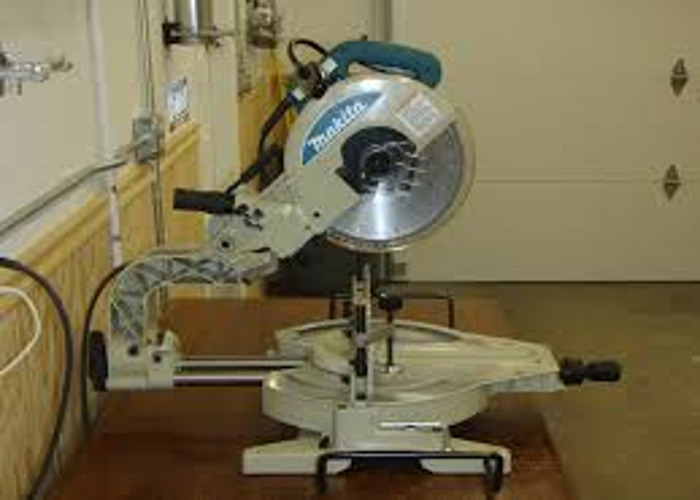 large chop saw with stand - 1