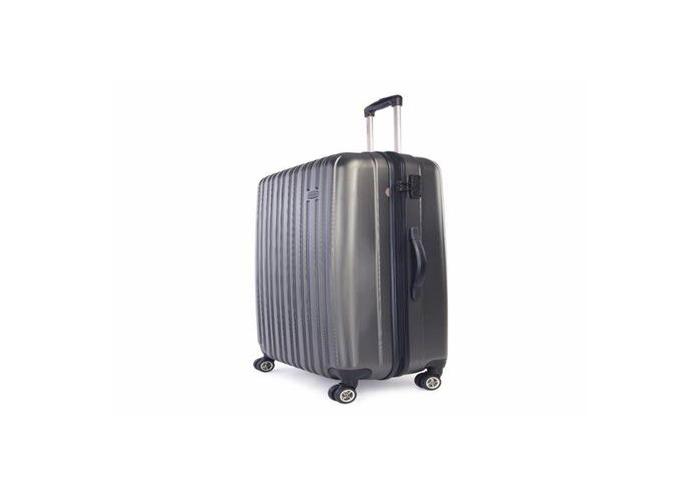 Large suitcase hard with 4 wheels - 1
