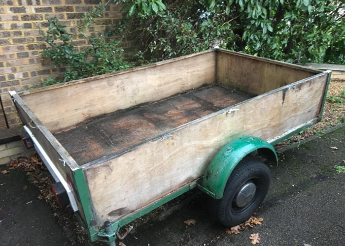 Large trailer 6ft x 4ft - 1