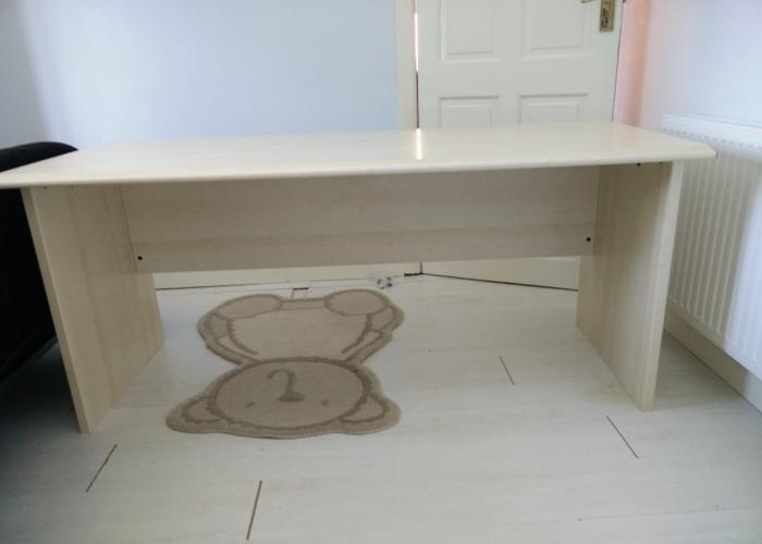 Large wooden desk - 1
