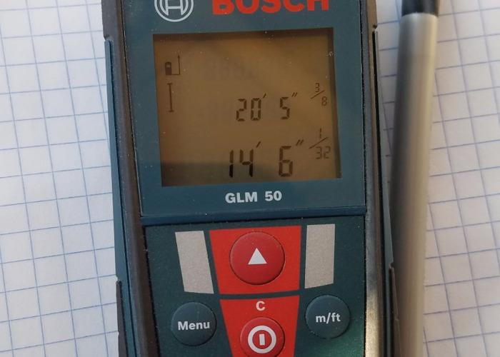 Laser Tape Measurer - 1