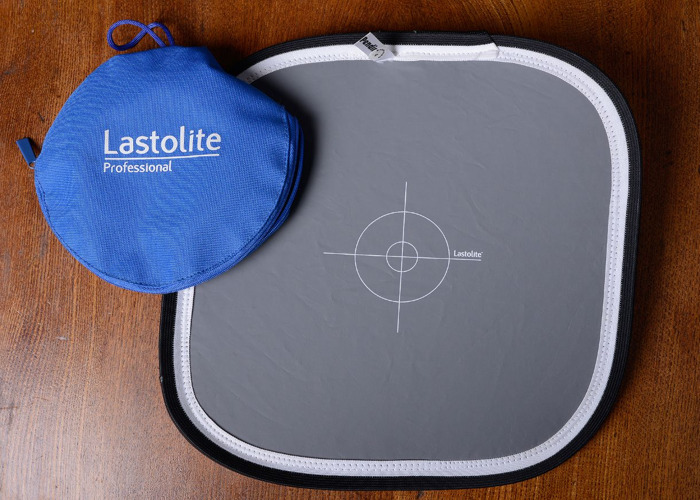 Lastolite 18% Grey White Calibration Reference Card - 1