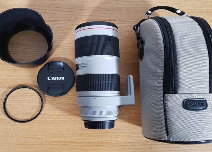 LATEST VER Canon EF 70-200mm f/2.8L IS III USM Lens - 2