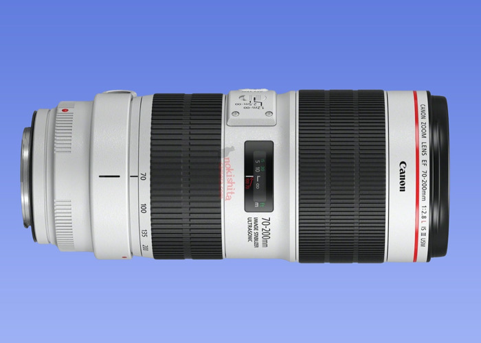 LATEST VER Canon EF 70-200mm f/2.8L IS III USM Lens - 1