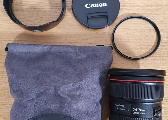 LATEST VERSION Canon EF 24-70mm f/2.8L II USM Lens - 2
