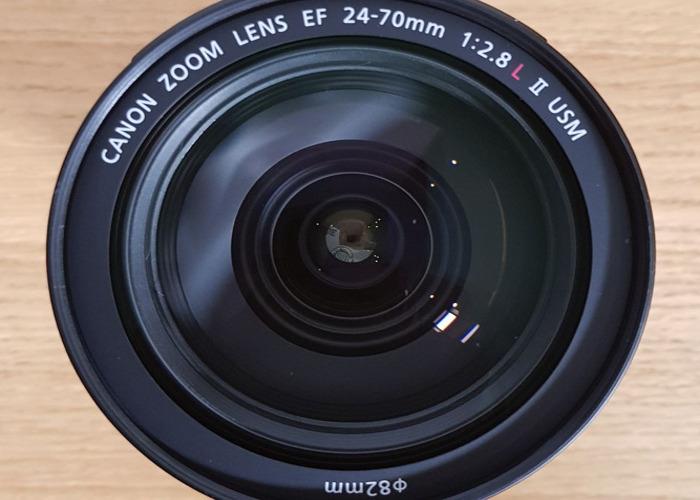 LATEST VERSION Canon EF 24-70mm f/2.8L II USM Lens - 1