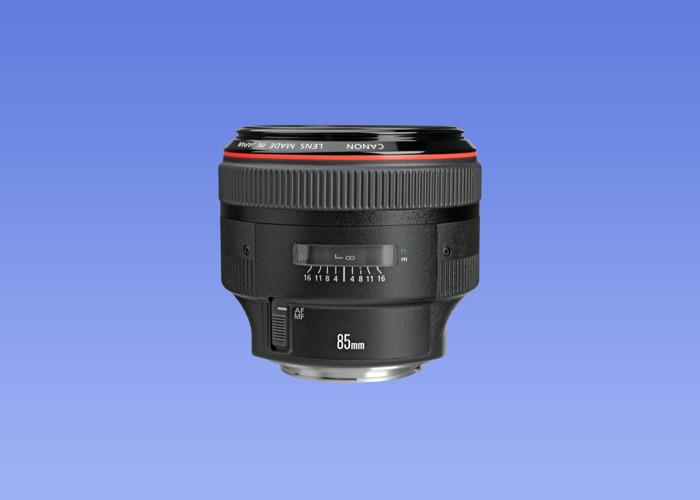 LATEST VERSION Canon EF 85mm f/1.2L II USM lens - 1