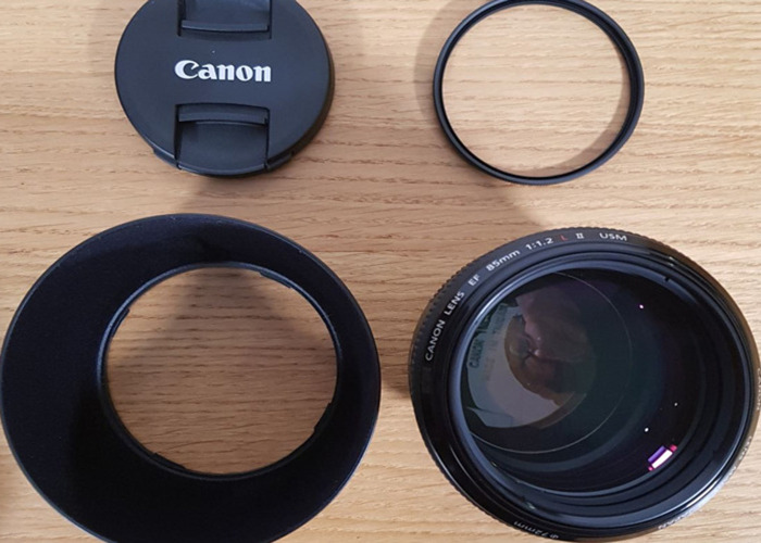 LATEST VERSION Canon EF 85mm f/1.2L II USM lens - 2